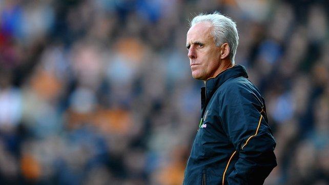 Mick McCarthy has been entrusted with saving Ipswich Town from relegation
