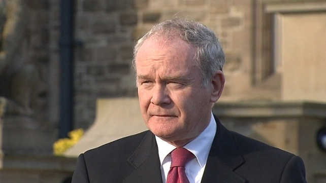 Martin McGuinness said the talks on funding provisions for welfare reforms were 'sensitive'