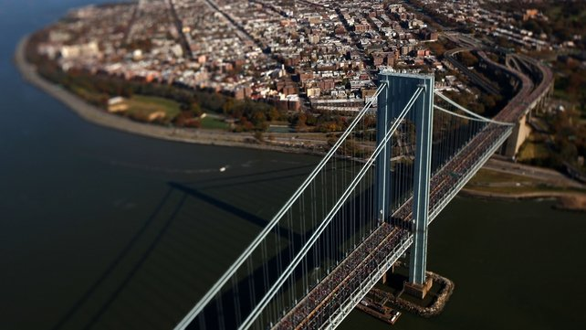 The New York marathon will go ahead