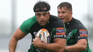 Ronan Loughney starts for Connacht against Benetton Treviso