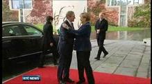 Merkel says eurozone ministers will address Irish debt