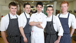 Ciaran Elliott, Jack O'Keeffe, John O'Connor, Keelan Higgs and Mark MOriarty