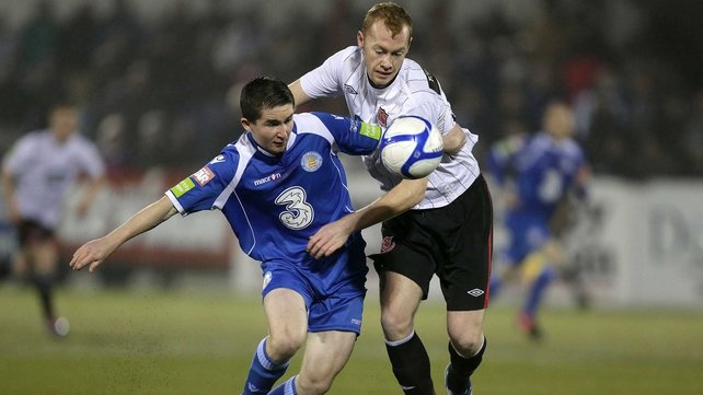 Dundalk won the second leg of their play-off 2-0 at the RSC