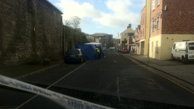 The incident occurred in the North Quay area in Drogheda