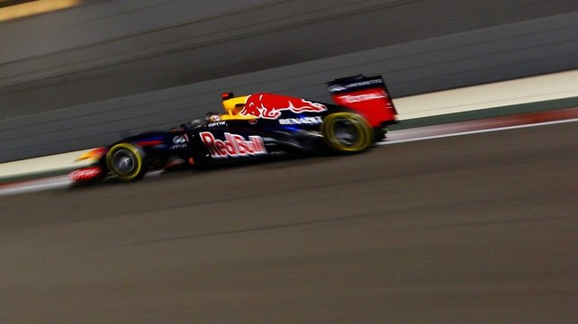 Vettel edged Hamilton in the second 90-minute practice session at the Yas Marina track