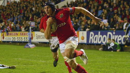 Tommy O'Donnell scored a brace of tries for Munster