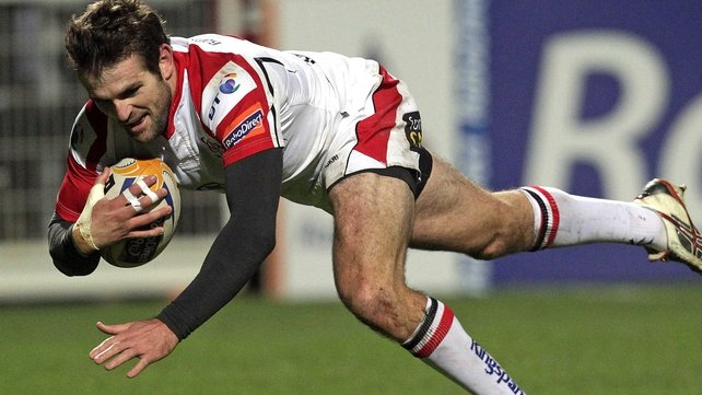 Jared Payne scored two of Ulster's six tries