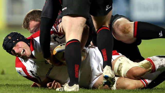 Stephen Ferris was forced off injured yet again
