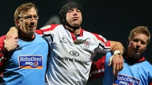 Stephen Ferris has not recovered from an ankle injury