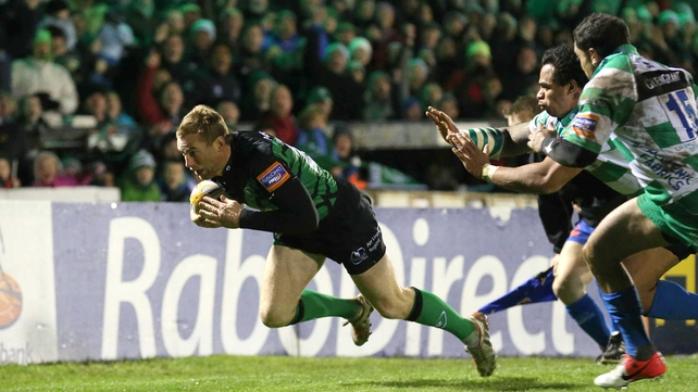 Gavin Duffy will feature at fullback for Connacht