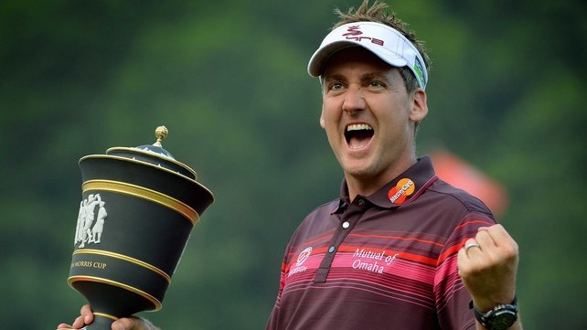 Poulter comes from behind to win HSBC