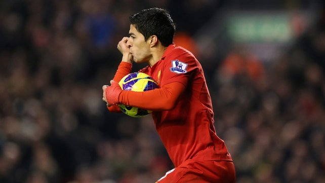 Luis Suarez has caused controversy once again