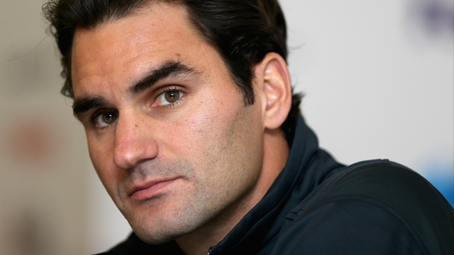 Roger Federer will face Janko Tipsarevic on Tuesday