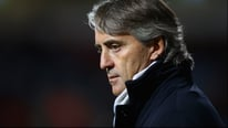 Roberto Mancini says his team is not yet ready to win the Champions League