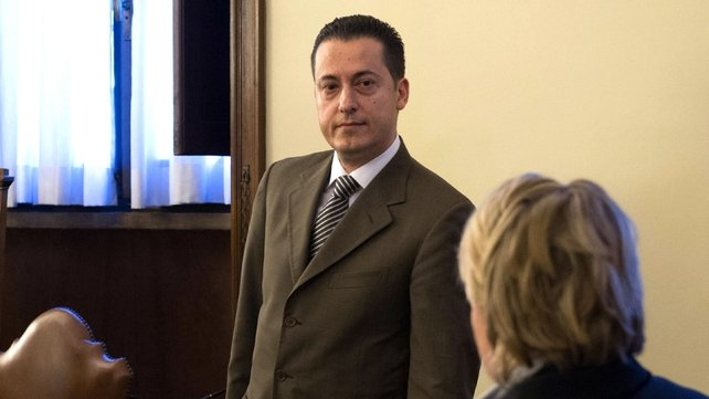 Butler Pablo Gabriele was sentenced to 18 months in jail over the leak