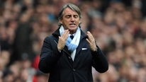 Roberto Mancini accepts his team will not qualify from the group stage of the Champions League