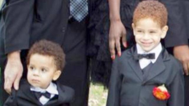 Brendan and Conor Moore, aged two and four, were washed away in Staten Island last week