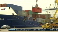 Irish export sales heading for annual record