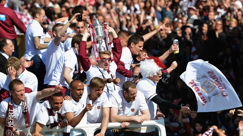 Hearts beat Edinburgh rivals Hibs in the Scottish Cup final in May