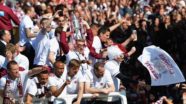 Hearts secured a famous win in last year's final