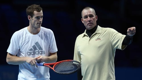 Andy Murray with coach Ivan Lendl as he aims to build on his US Open win