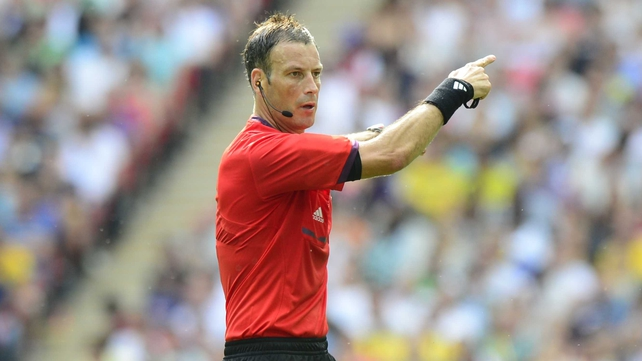 It was concidered in Mark Clattenburg's 'best interests' not to officiate this weekend