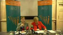 Dr Carol Coulter and Frances Fitzgerald on the new child care reporting project