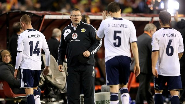 Levein spent nearly three years in charge