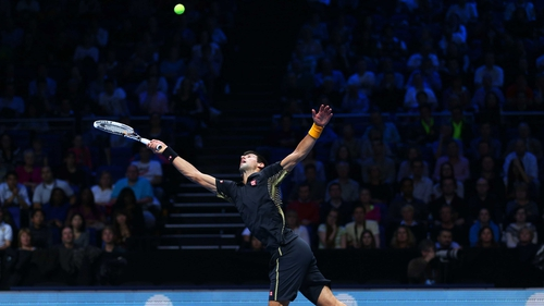 Novak Djokovic will face Andy Murray in his next match at the Barclays ATP World Tour Finals