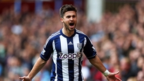 West Brom manager Steve Clarke pays tribute to Shane Long's performances so far this season
