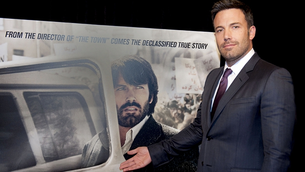 Ben Affleck impressed in front of and behind the camera on Argo