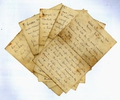 National Archives WW1 soldiers letters