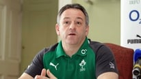 Ireland kicking coach Mark Tainton tells RTÉ's Michael Corcoran that South Africa will pose a huge challenge