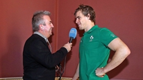 Ireland's Andrew Trimble tells RTÉ's Michael Corcoran that he hopes to bring his Ulster form to international level