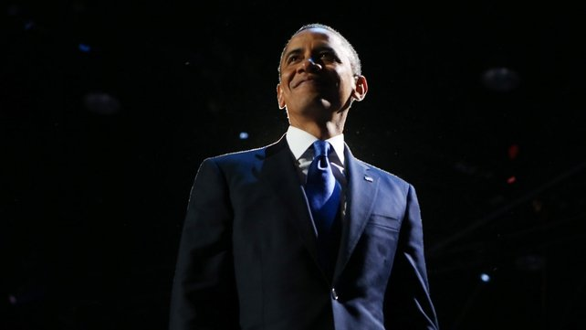 Barack Obama has been re-elected US President