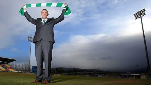 Trevor Croly was unveiled as the new Shamrock Rovers manager this afternoon