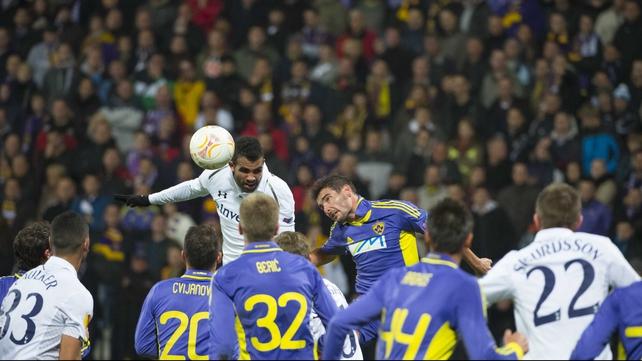 Sandro rises highest against Maribor in Slovenia