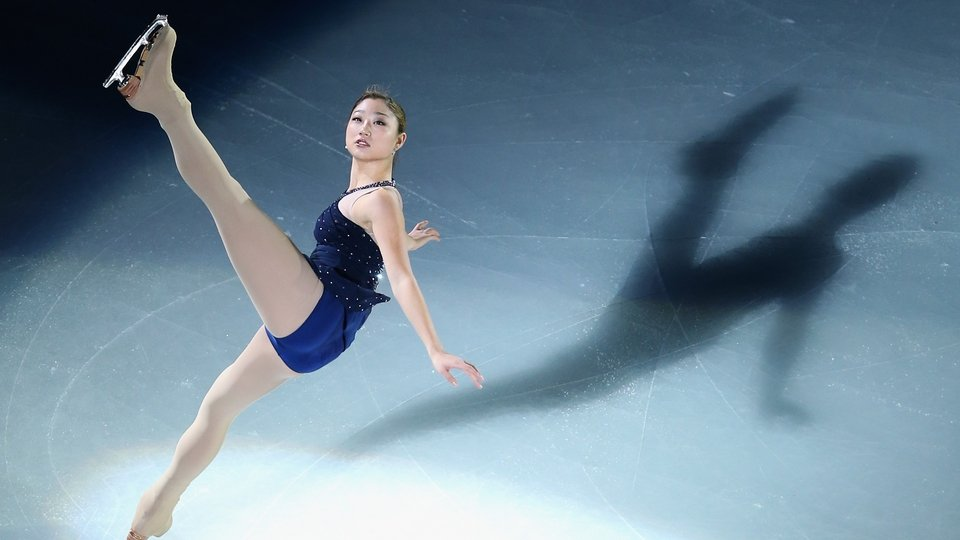 Mirai Nagasu of the United States performs during the Cup of China ISU Grand Prix of Figure Skating at the Oriental Sports Centre