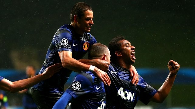 Nani (right) is certain to miss Manchester United's game with Aston Villa