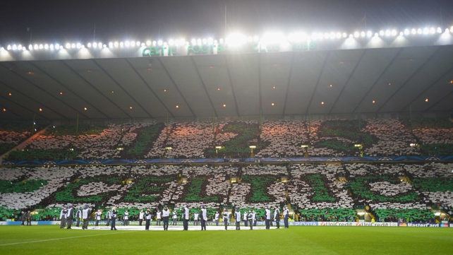 Celtic celebrated a momentous day in their history by beating Barcelona