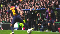 Celtic manager Neil Lennon tells RTÉ's Tony O'Donoghue that the win over Barcelona was historic