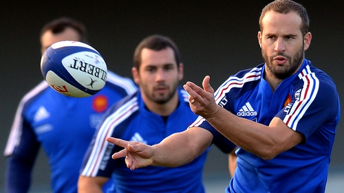 Michalak set for his 57th French cap against the Wallabies