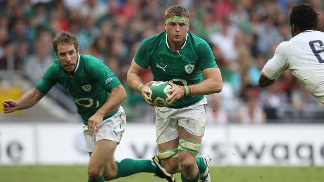 Jamie Heaslip is being considered for the role of British and Irish Lions captain by head coach Warren Gatland