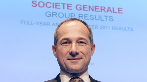 SocGen CEO Frederic Oudea says bank has accomplished the 'transformation' of its balance sheet