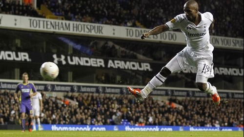 Jermain Defoe put Spurs ahead in the 22nd minute