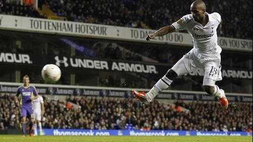 Jermain Defoe put Spurs ahead in the 22nd minute