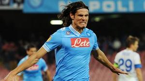 Edinson Cavani has scored 104 goals in 138 appearances for Napoli