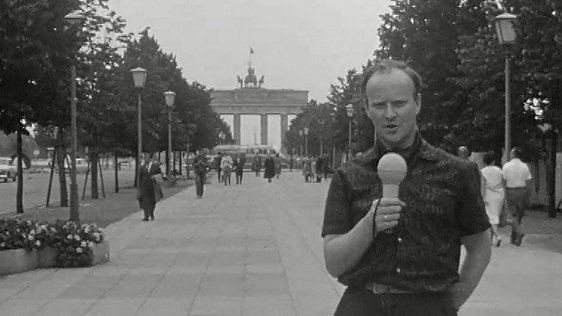 John O'Donoghue reporting from East Berlin for the programme 'Sixty Five'.