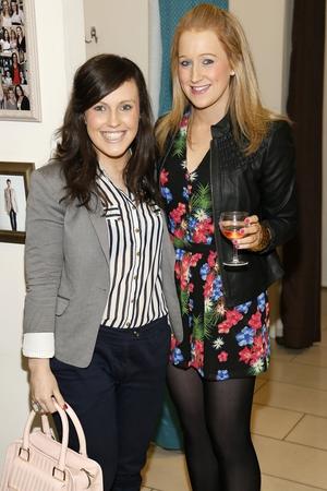 Roisin Kearney and Hallie Faulkner