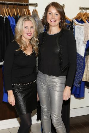 Gillian Mooney and Trina Bradley